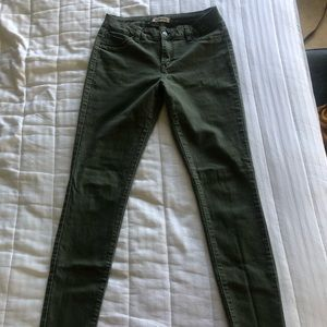 Blue Spice - Stretchy Jeans - Color Green